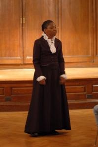 Kathy Hudson Portraying Harriet Tubman