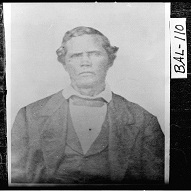 Photograph of Wilkes Flagg, resident of Milledgeville, Georgia (ca 1870)