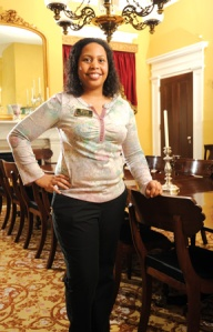 Deitrah Taylor, Old Governor's Mansion Resident Expert