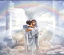 Jesus In Heaven Artwork:  Original Artist Unknown
