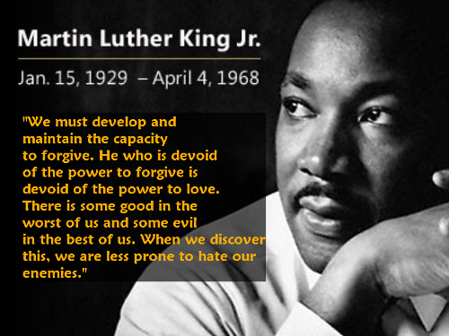 Martin Luther King, Jr.'s Quote On Forgiveness