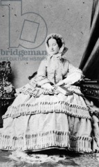 Queen Victoriaca 1860The Bridgeman Art Library